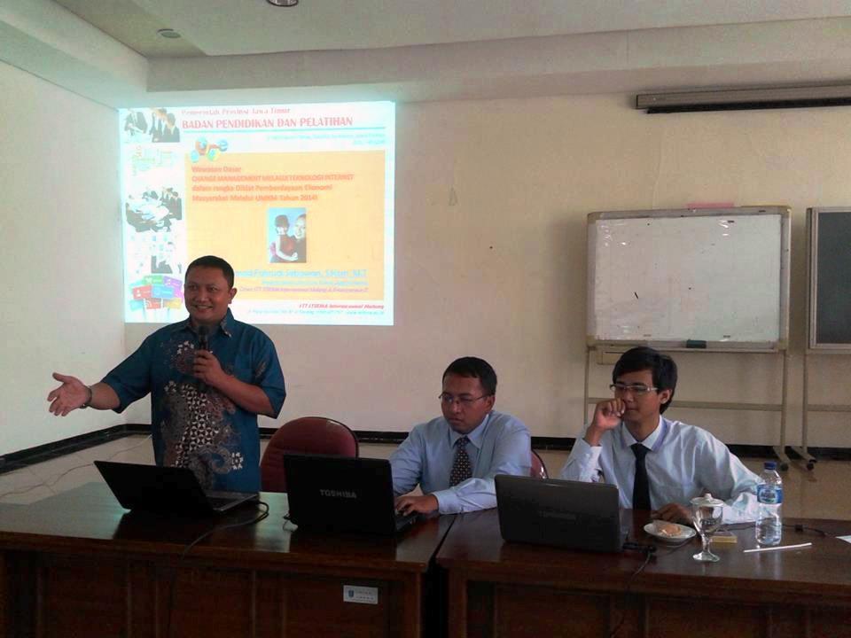 Pelatihan Diklat Pemberdayaan Ekonomi Masyarakat melalui UMKM 2014 oleh STIKMA