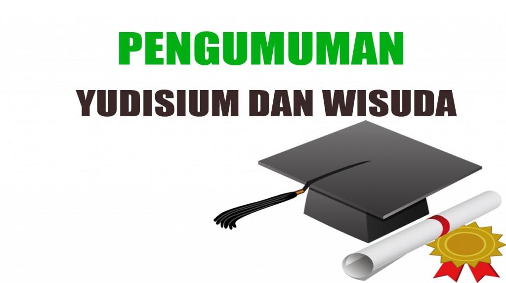 Pengumuman Agenda Yudisium, Wisuda, dan Pengambilan Ijazah STT STIKMA