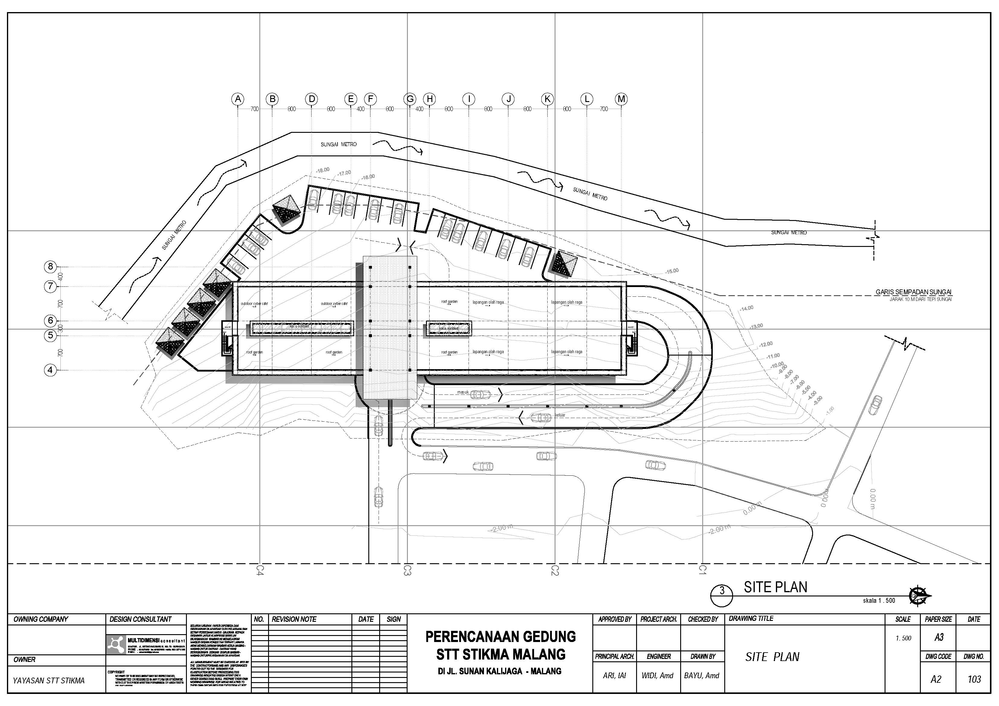 Site plan stt stikma internasional for Site plans online