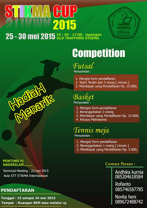 POSTER STIKMA CUP