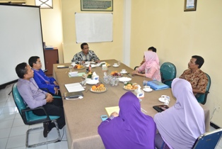 Kunjungan Tim Wasdalbin (Pengawasan, Pengendalian dan Pembinaan) dari Kopertis 7 Jawa Timur