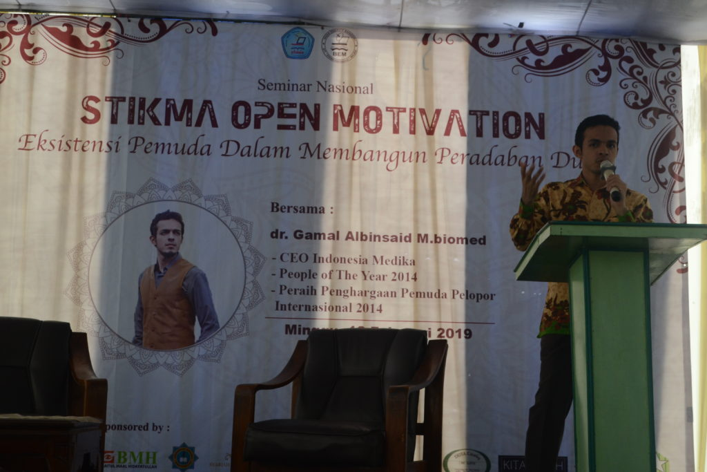 Stikma Motivation bersama dr. Gamal Albinsaid M.Biomed