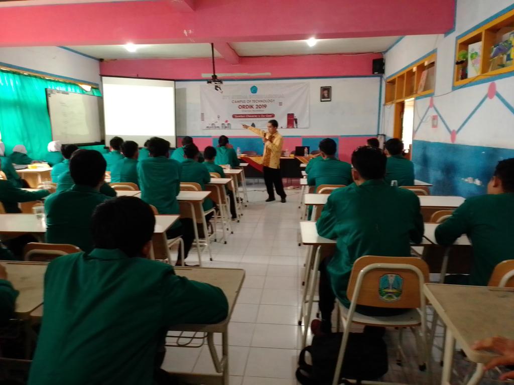 Hari Pertama Orientasi Pendidikan 2019