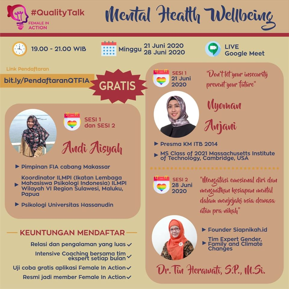 Event WEBNAR – Mental Health Wellbeing