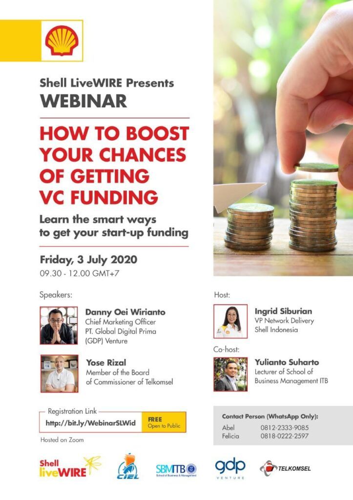 Event WEBNAR – How to Boost Your Chances of Getting VC Funding
